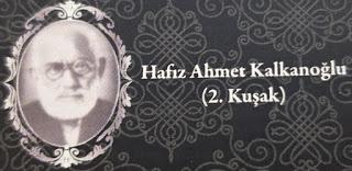 Hafız Ahmet Kalkanoğlu 2 Kuşak