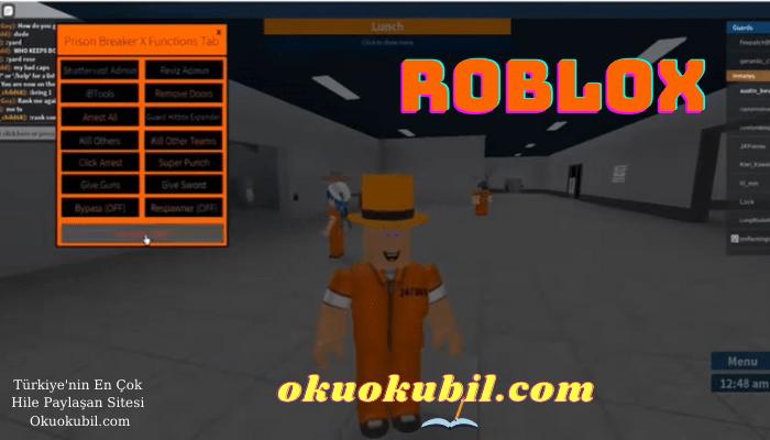 Roblox Prison Break Hapishane