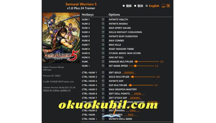 Samurai Warriors 5 V1.0 PC