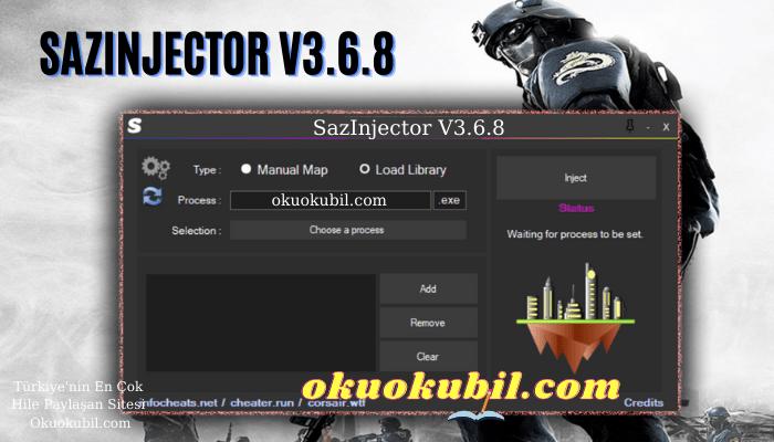 SazInjector V3.6.8 Son Sürüm Tüm Dll Dosyaları